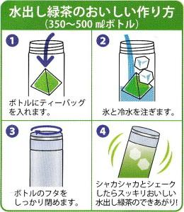 美味しい水出し緑茶のいれ方