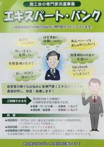 エキスパート・バンク チラシ(表)